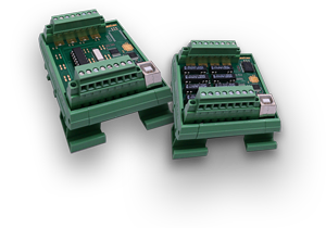 USB-Modul wahlweise mit 8 Relais-Ausgängen oder 8 Opto-In-Eingängen