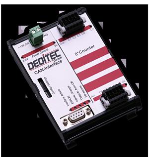 CAN Zähler-Modul kann PWM-Signale erfassen und ausgeben