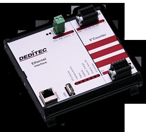20 MHz Ethernet-Zählermodul via LAN steuern