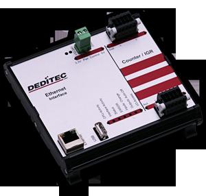 Ethernet-Modul mit 2 Eingängen für Inkrementalgeber