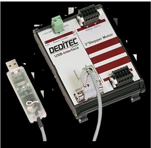 RO-USB-Stepper2 - Schrittmotorensteuerung mit USB-Interface