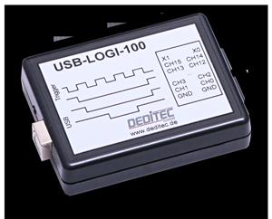 USB-Logi-100 - USB Logikanalysator mit 100MHz für den PC