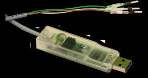 Produkt Photo: - USB/RS-232 (TTL) Umsetzer mit galvanischer Trennung