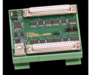 USB-Modul mit 64 TTL Ein-/Ausgängen
